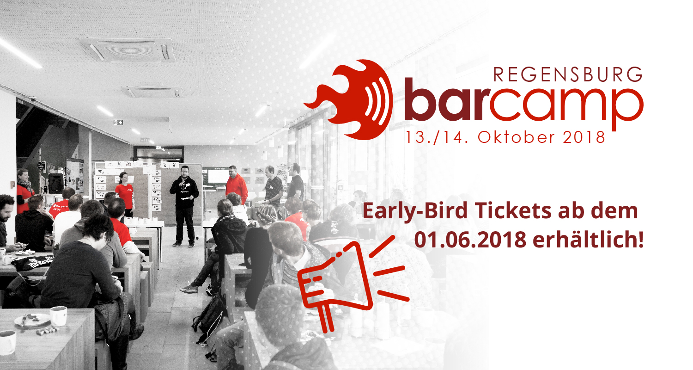 barcamp regensburg 13 14 oktober 2018 techbase regensburg. Black Bedroom Furniture Sets. Home Design Ideas